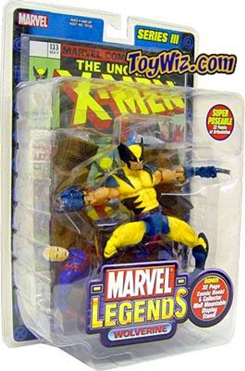 Marvel Legends Series 3 Wolverine Action Figure