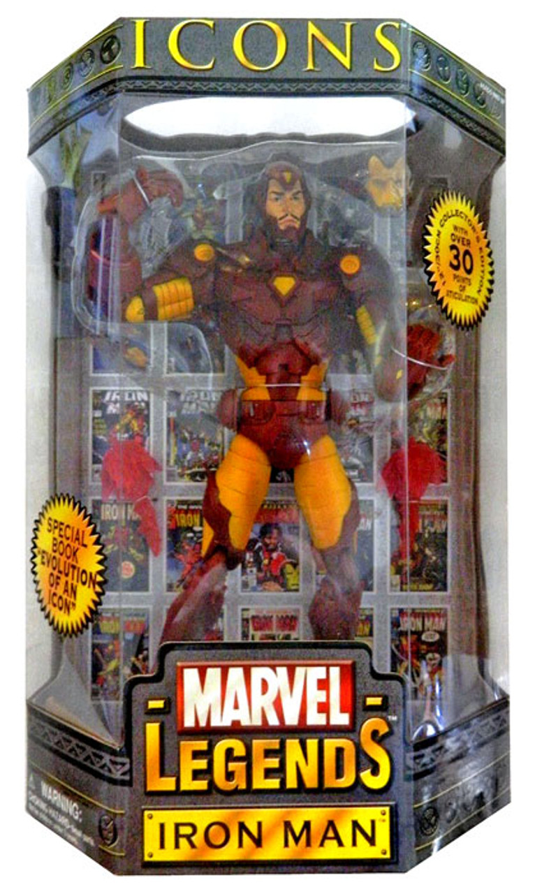 Marvel Legends Icons Iron Man Action Figure