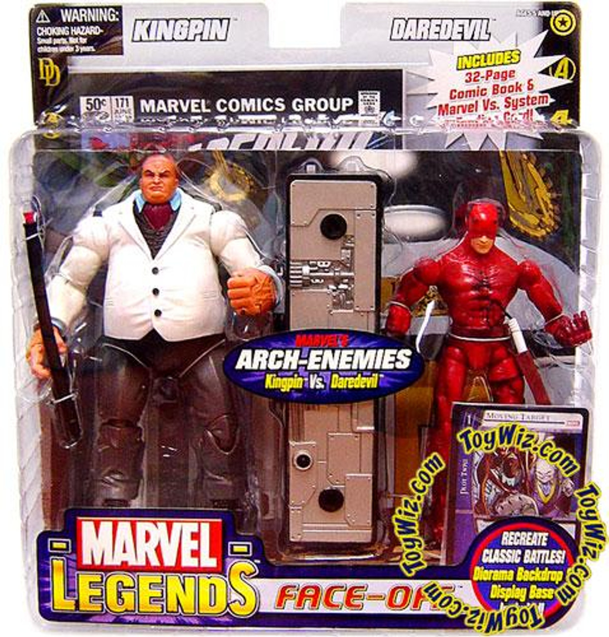 Marvel Legends Face Off Series 1 Kingpin vs. Daredevil Action Figure 2-Pack
