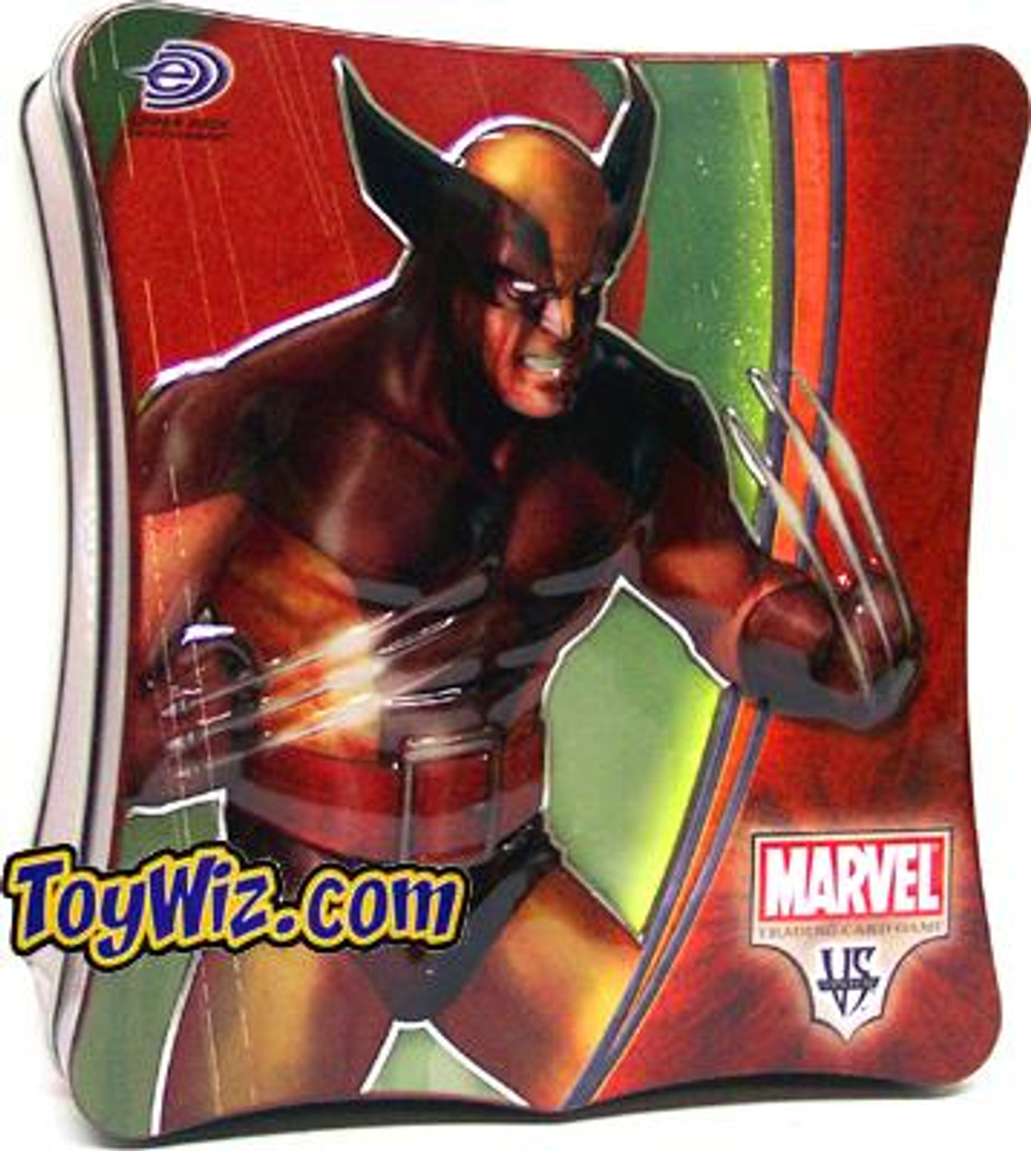 Marvel VS System Trading Card Game Wolverine Collectible Tin