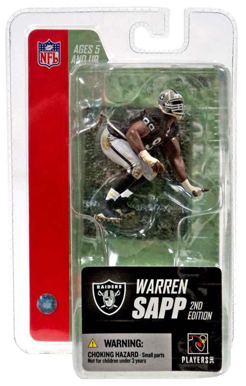 McFarlane Toys NFL Oakland Raiders Sports Picks 3 Inch Mini Series 3 Warren Sapp Mini Figure