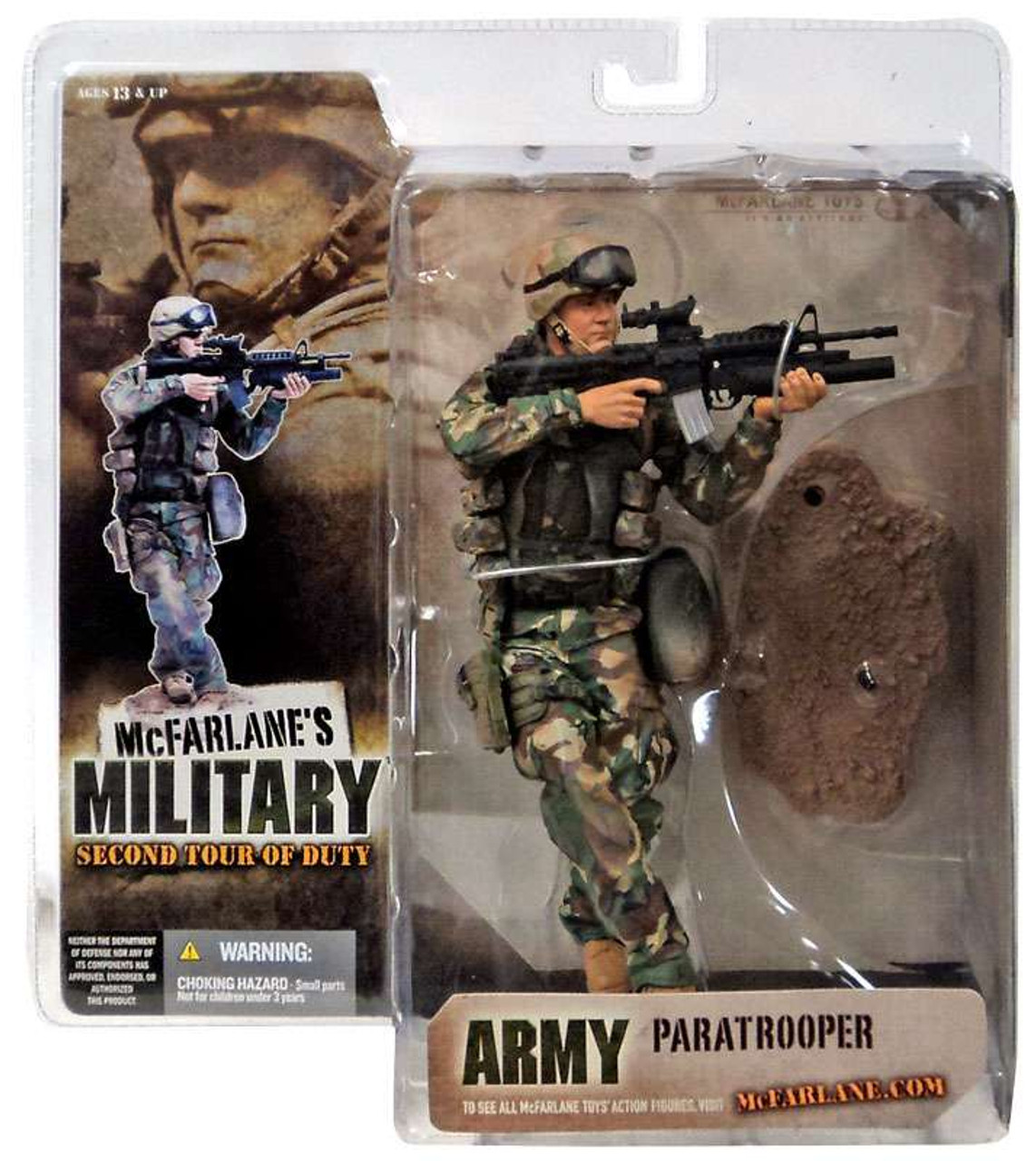 McFarlane Toys Military 2nd Tour of Duty Army Paratrooper Action Figure [Caucasian]