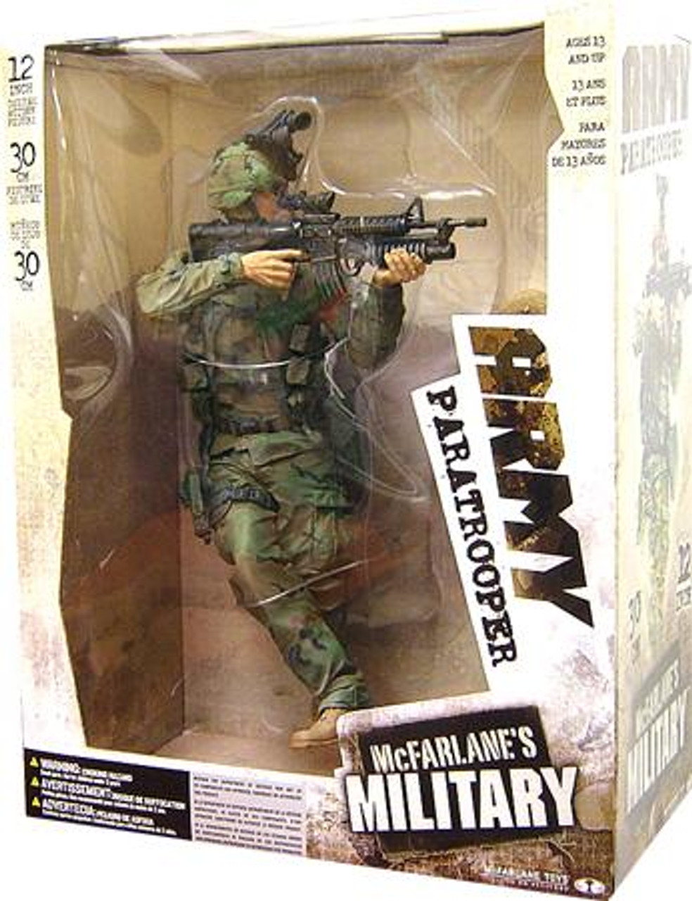 McFarlane Toys Military Army Paratrooper 12 Inch Action Figure [Random Ethnicity]