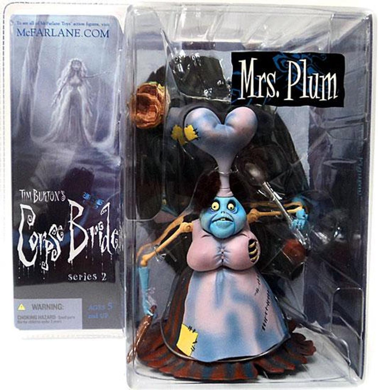 McFarlane Toys Corpse Bride Series 2 Mrs. Plum Action Figure