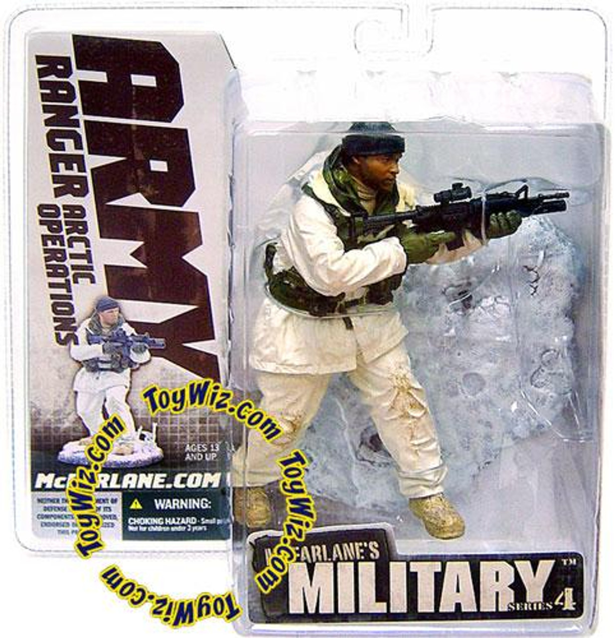 McFarlane Toys Military Series 4 Army Ranger Arctic Operations Action Figure [Random Ethnicity]