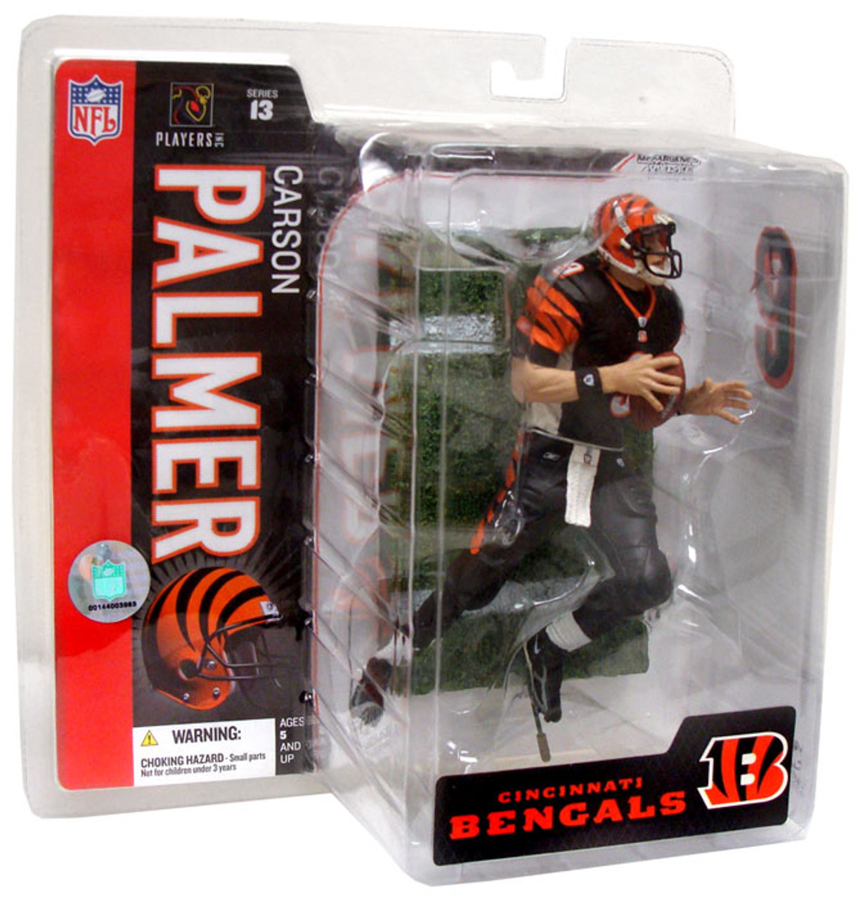 McFarlane Toys NFL Cincinnati Bengals Sports Picks Series 13 Carson Palmer Action Figure [Black Jersey]