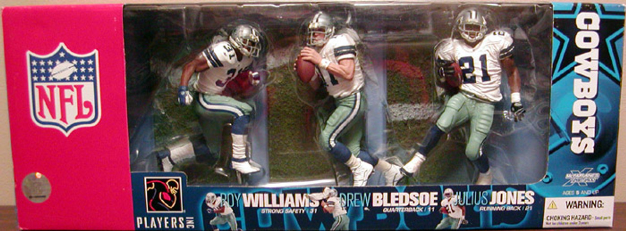 McFarlane Toys NFL Sports Picks 3-Packs Dallas Cowboys Exclusive Action Figure 3-Pack [Damaged Package]