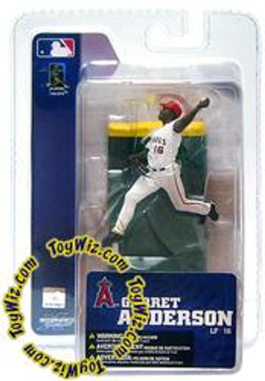 McFarlane Toys MLB Anaheim Angels Sports Picks 3 Inch Mini Series 4 Garret Anderson Mini Figure