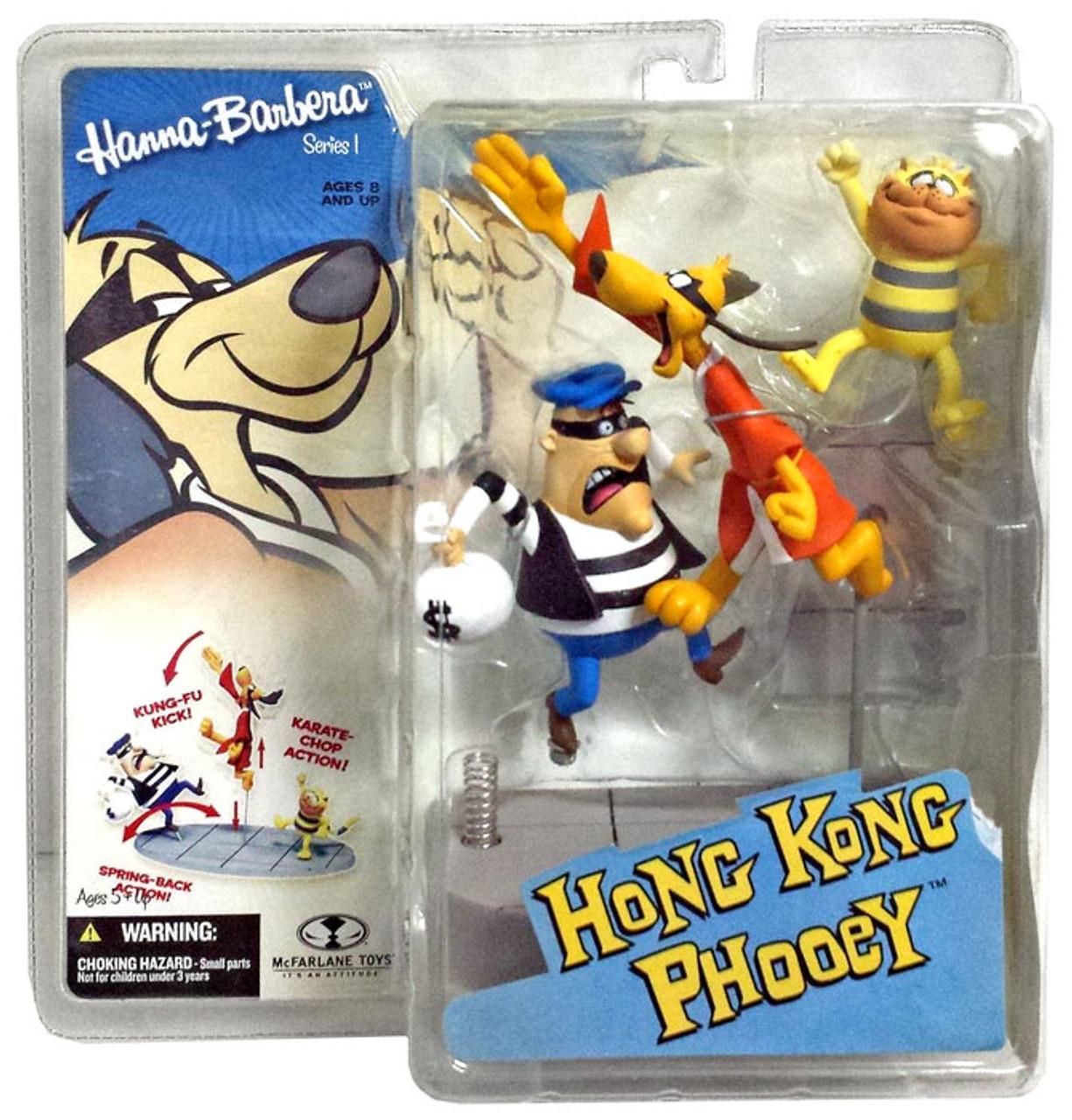 McFarlane Toys Hanna-Barbera Hong Kong Phooey Action Figure