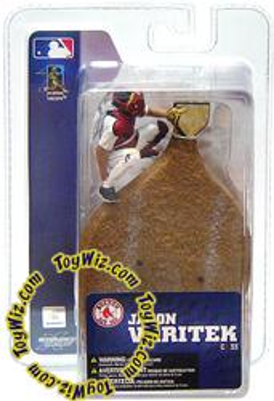 McFarlane Toys MLB Boston Red Sox Sports Picks 3 Inch Mini Series 4 Jason Varitek Mini Figure