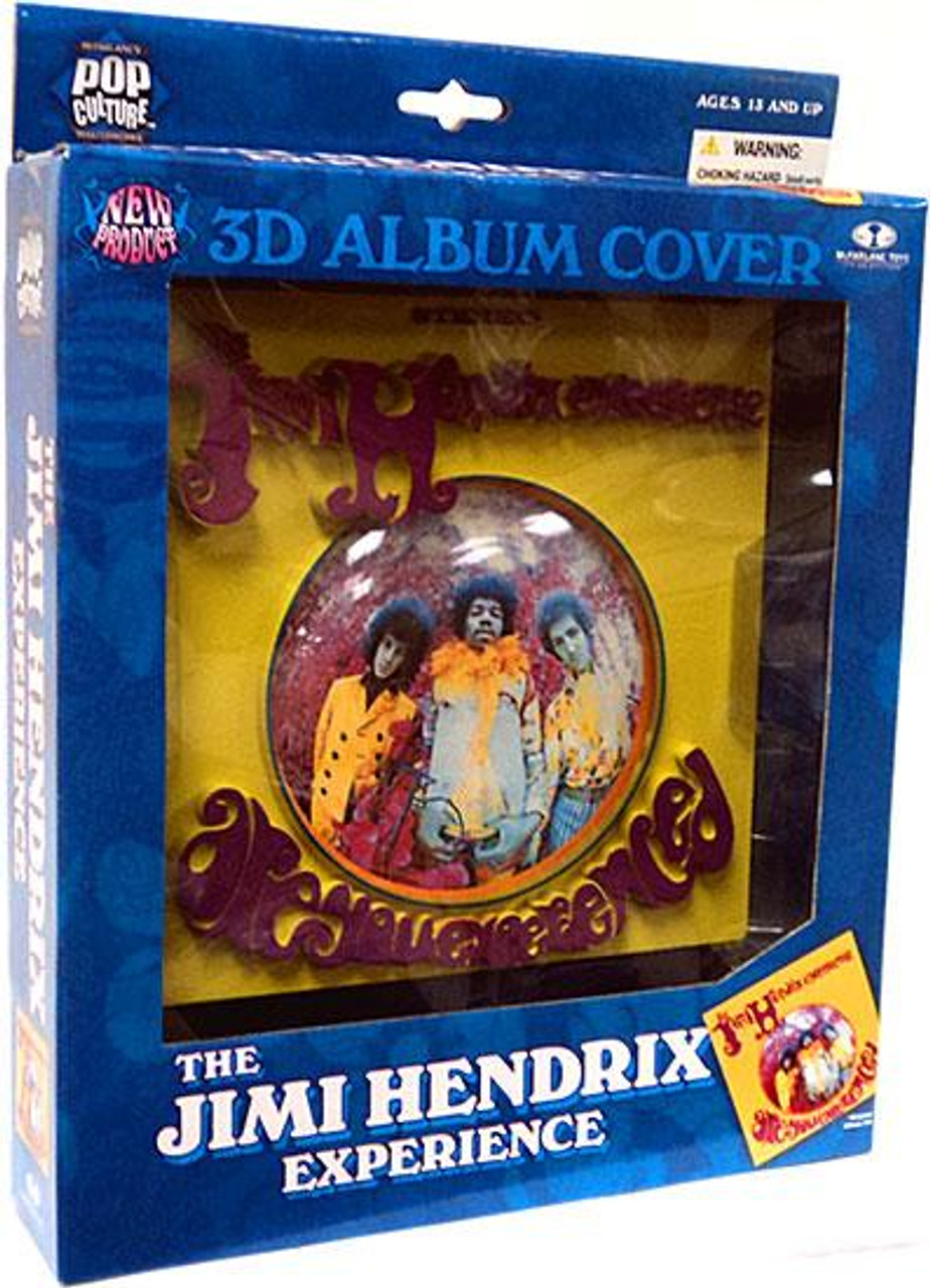 McFarlane Toys Pop Culture Masterworks The Jimi Hendrix Experience 3-D Album Cover