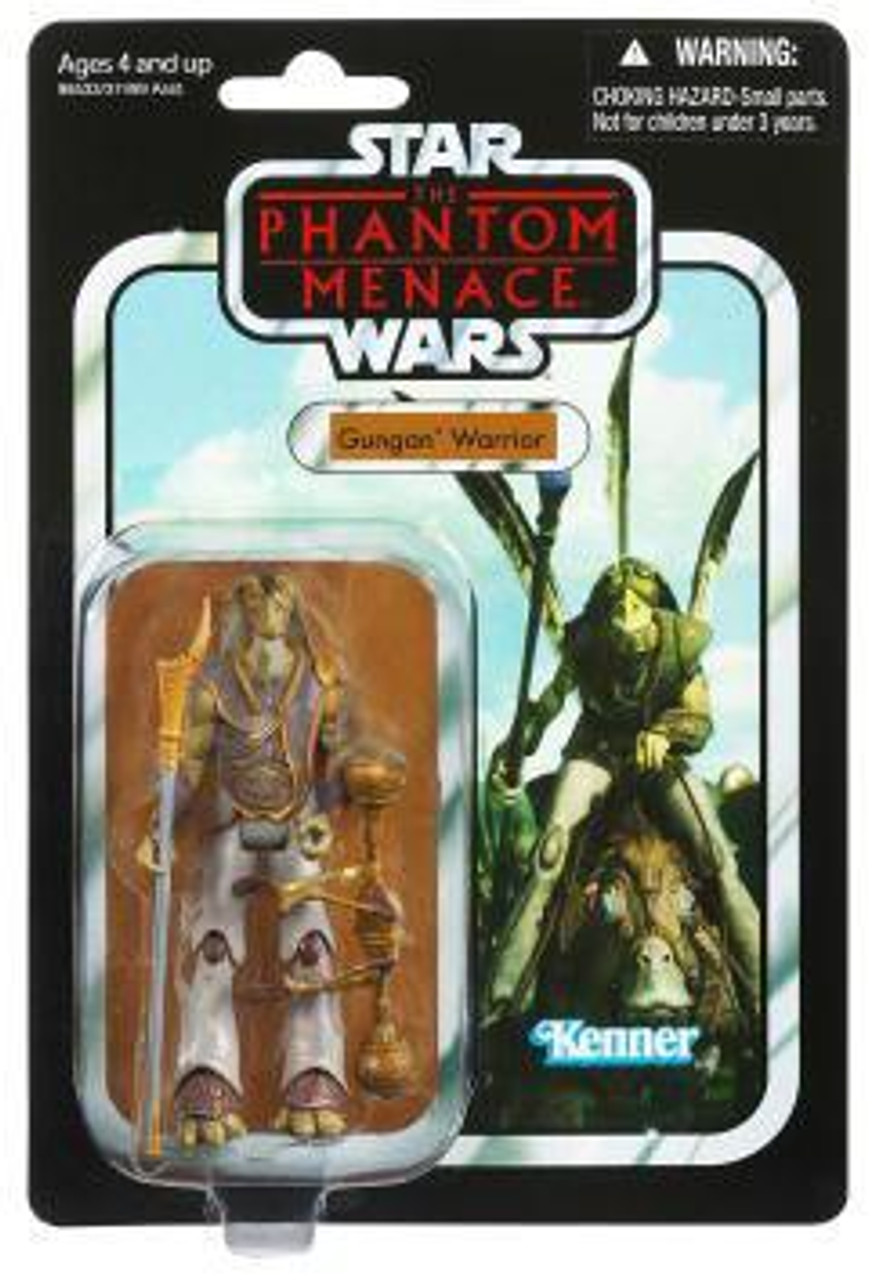 Star Wars The Phantom Menace Vintage Collection 2012 Gungan Warrior Action Figure #74 [Phantom Menace]