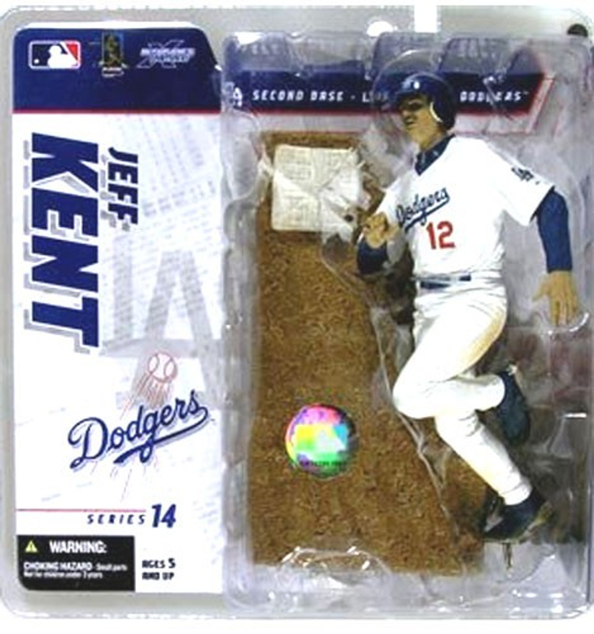 McFarlane Toys MLB Los Angeles Dodgers Sports Picks Series 14 Jeff Kent Exclusive Action Figure [White Jersey]