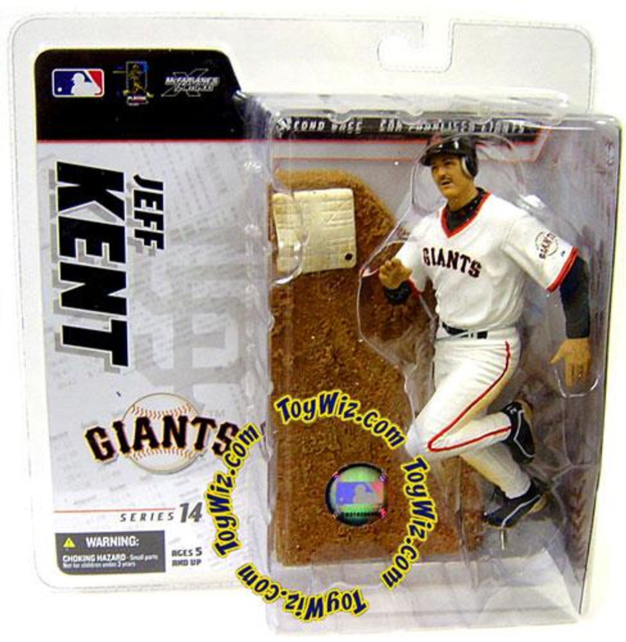 McFarlane Toys MLB San Francisco Giants Sports Picks Series 14 Jeff Kent Exclusive Action Figure [White Retro Jersey Variant]