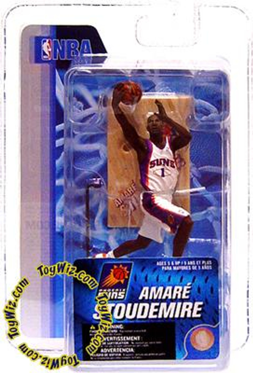McFarlane Toys NBA Phoenix Suns Sports Picks 3 Inch Mini Series 4 Amare Stoudemire Mini Figure