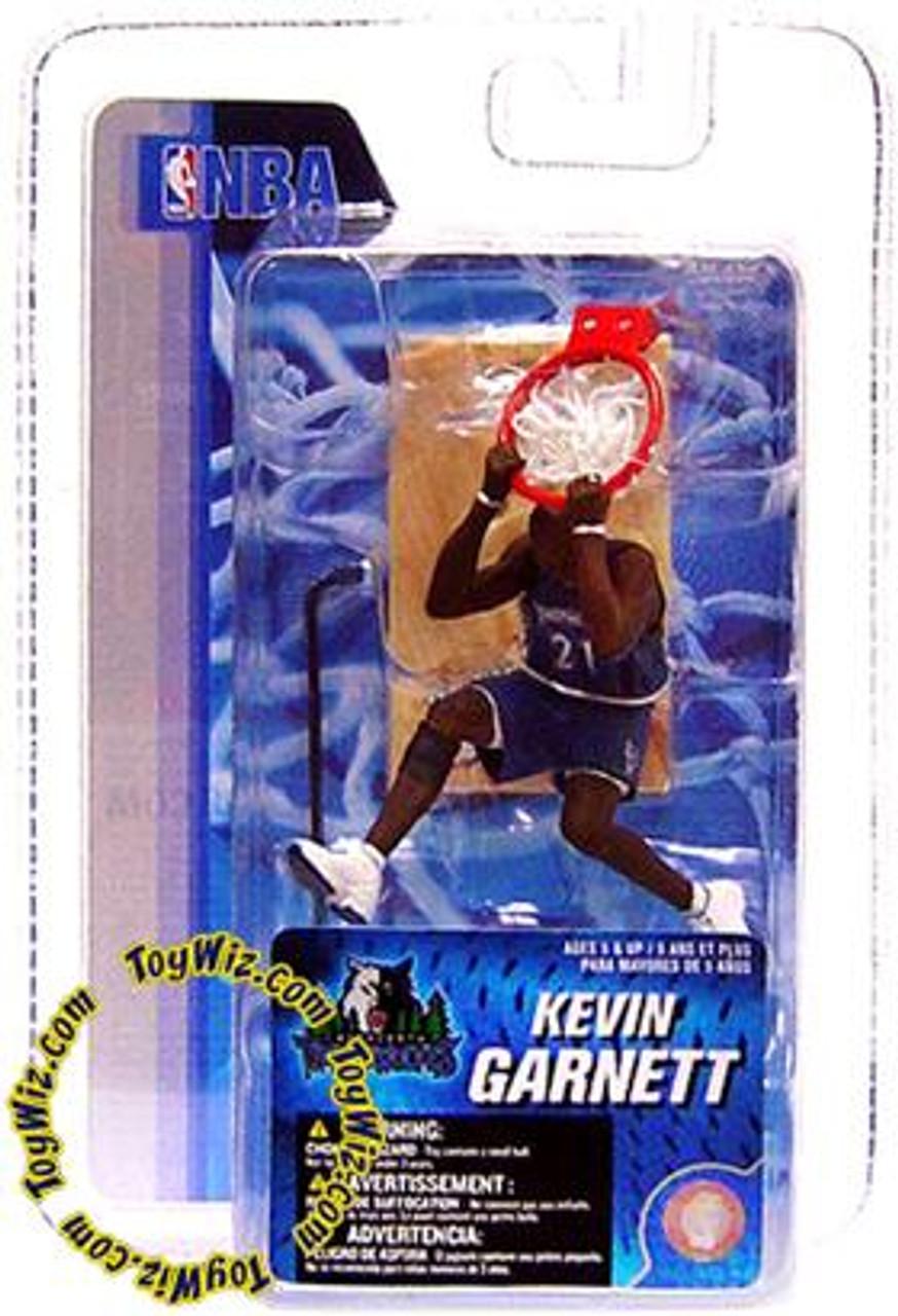McFarlane Toys NBA Minnesota Timberwolves Sports Picks 3 Inch Mini Series 4 Kevin Garnett Mini Figure