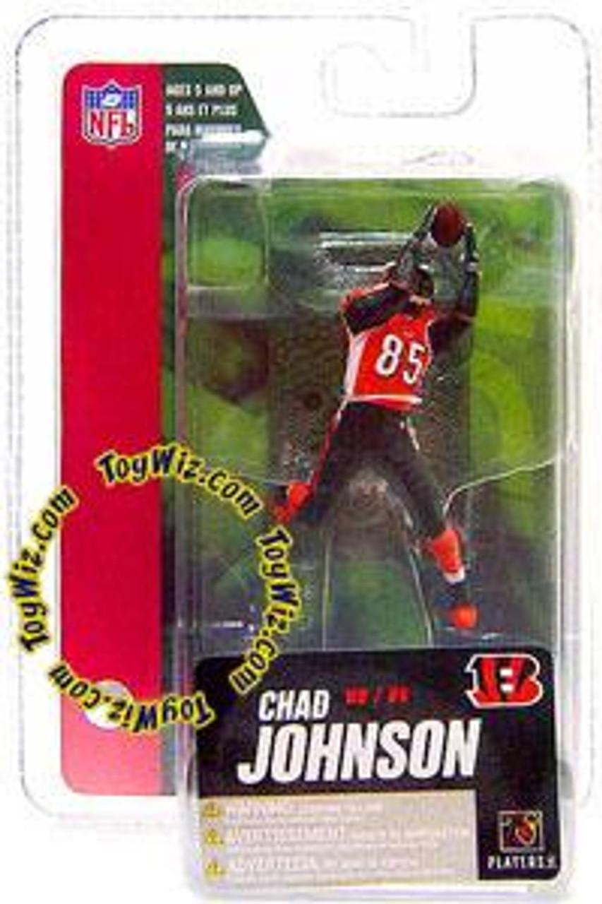McFarlane Toys NFL Cincinnati Bengals Sports Picks Series 4 Mini Chad Johnson 3-Inch Mini Figure [Ochocinco]