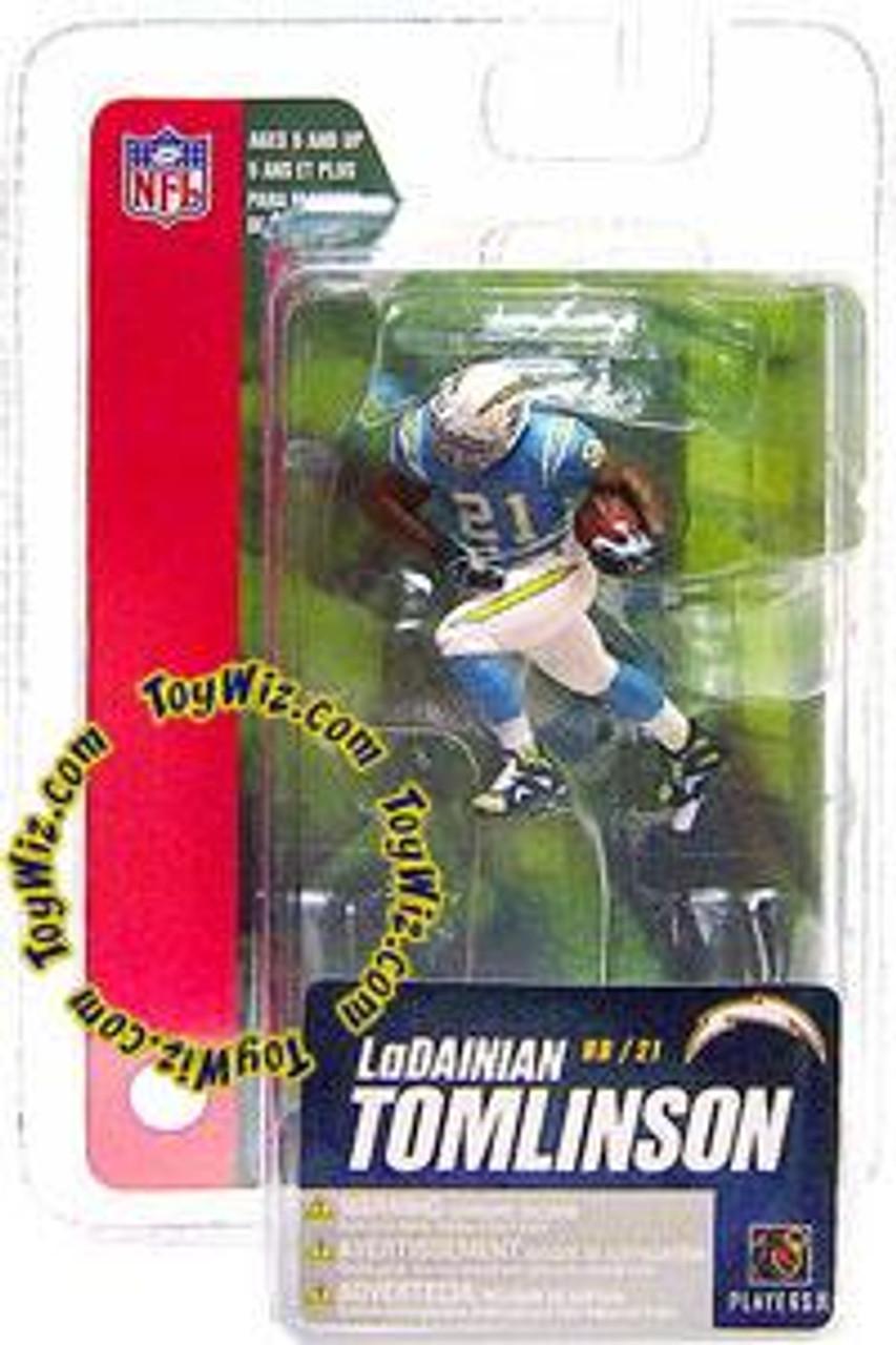 McFarlane Toys NFL San Diego Chargers Sports Picks Series 4 Mini LaDainian Tomlinson 3-Inch Mini Figure
