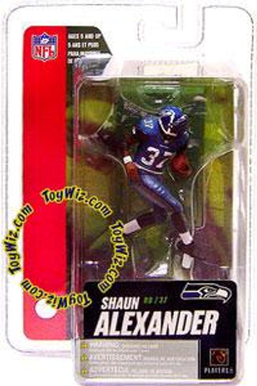 McFarlane Toys NFL Seattle Seahawks Sports Picks Series 4 Mini Shaun Alexander 3-Inch Mini Figure