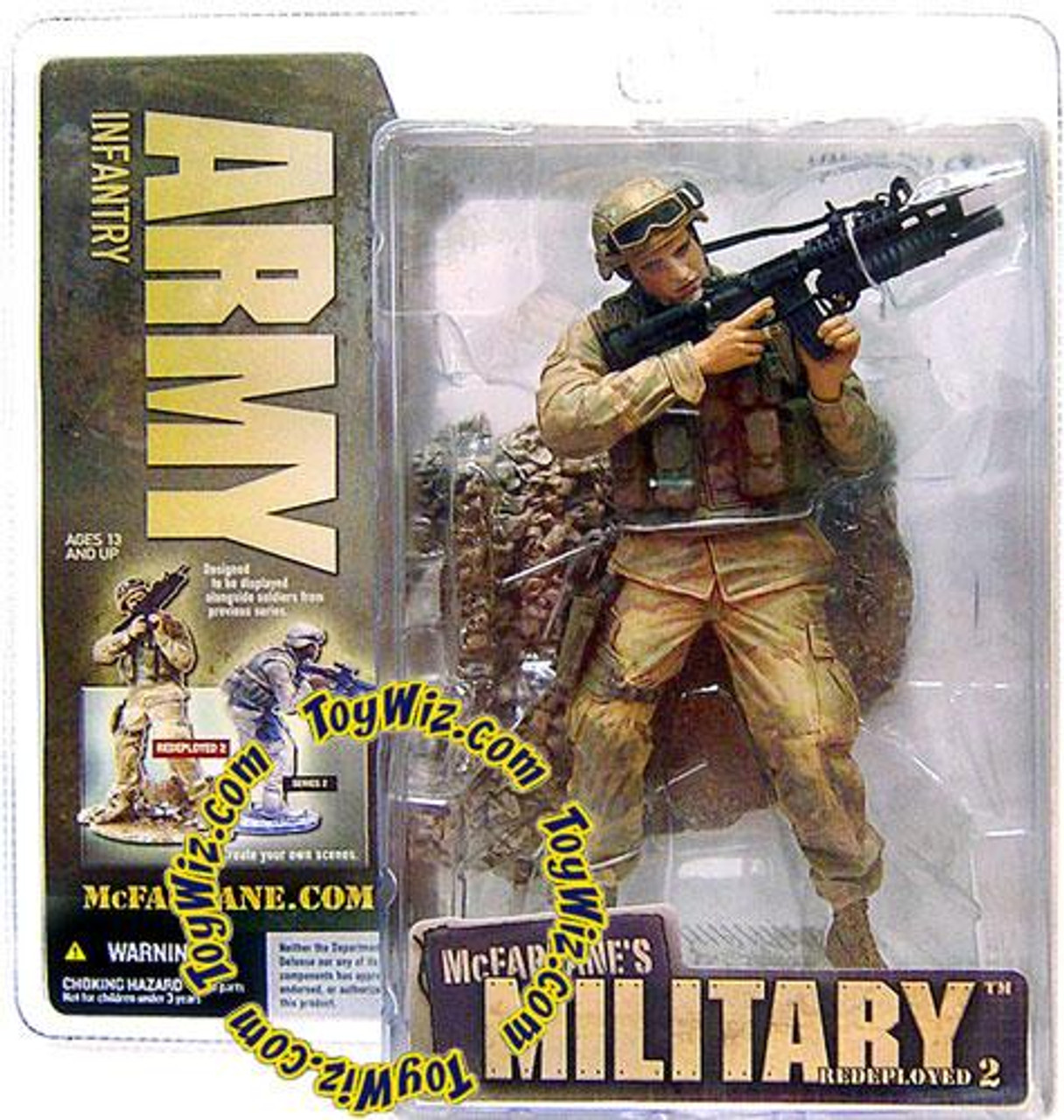 McFarlane Toys Military Redeployed Series 2 Army Infantry Action Figure [Random Ethnicity]