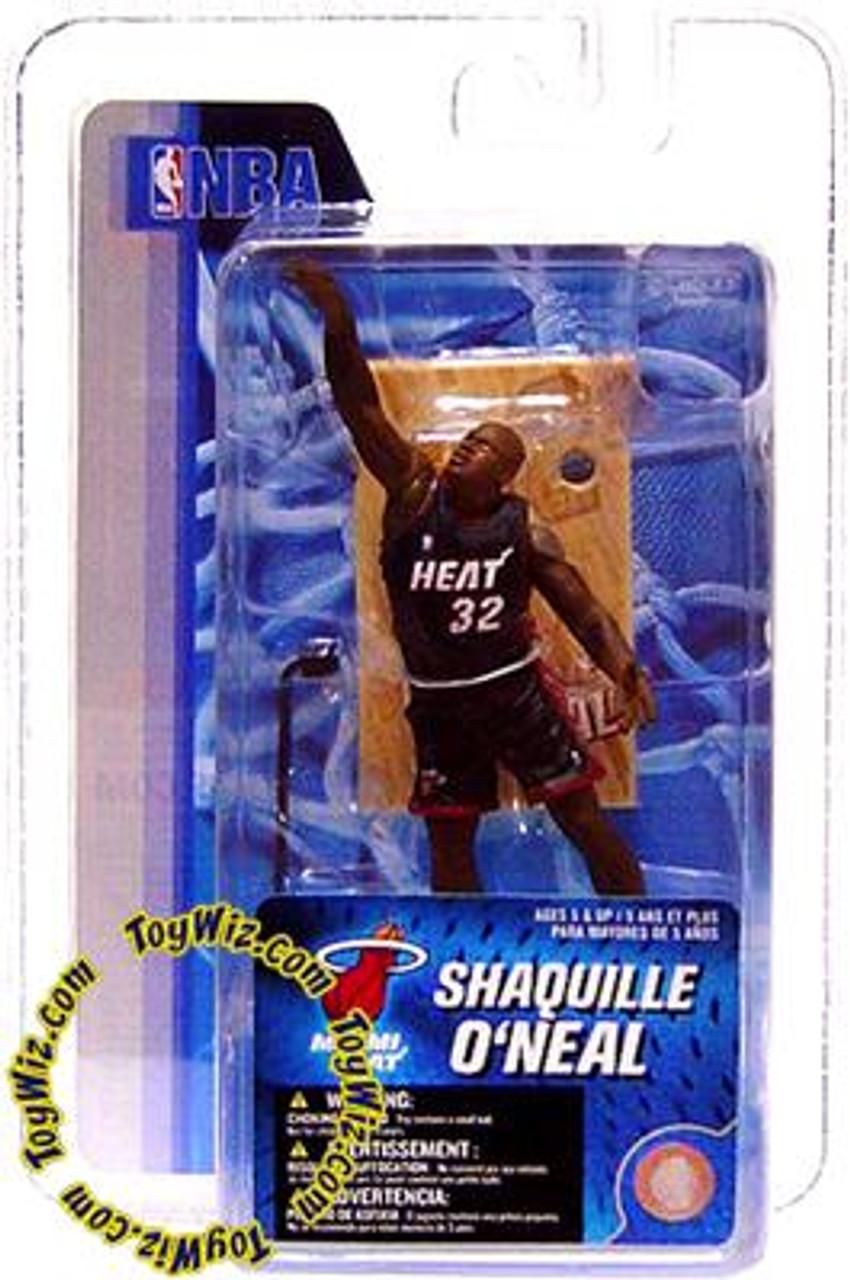 McFarlane Toys NBA Miami Heat Sports Picks 3 Inch Mini Series 4 Shaquille O'Neal Mini Figure