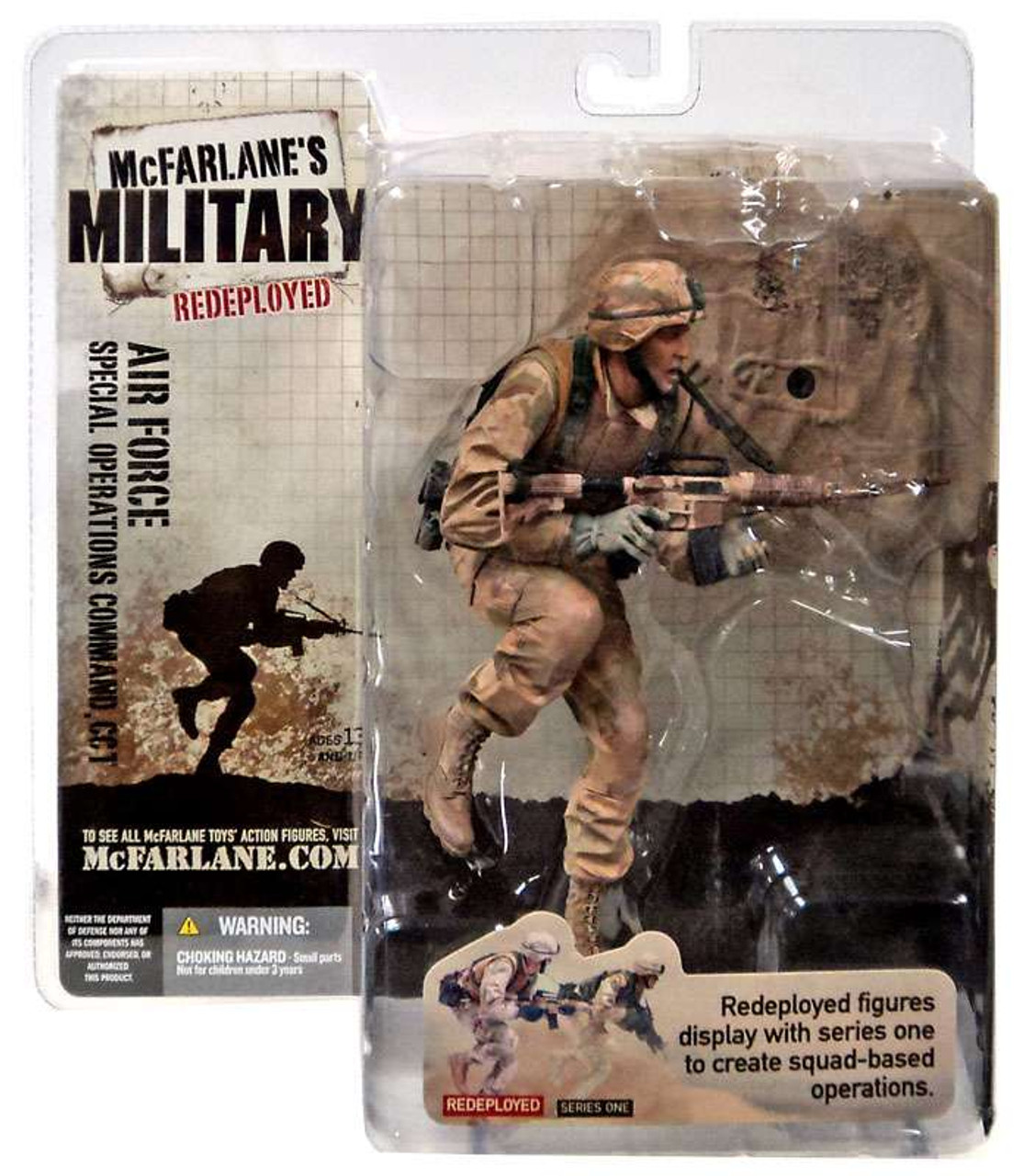 McFarlane Toys Military Redeployed Series 1 Air Force Special Operations Command, CCT Action Figure [Caucasian]