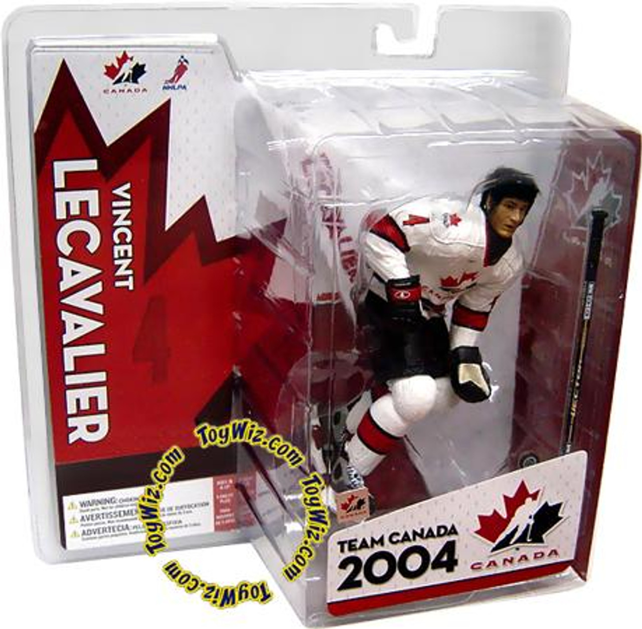 McFarlane Toys NHL Sports Picks Team Canada Vincent Lecavalier Action Figure