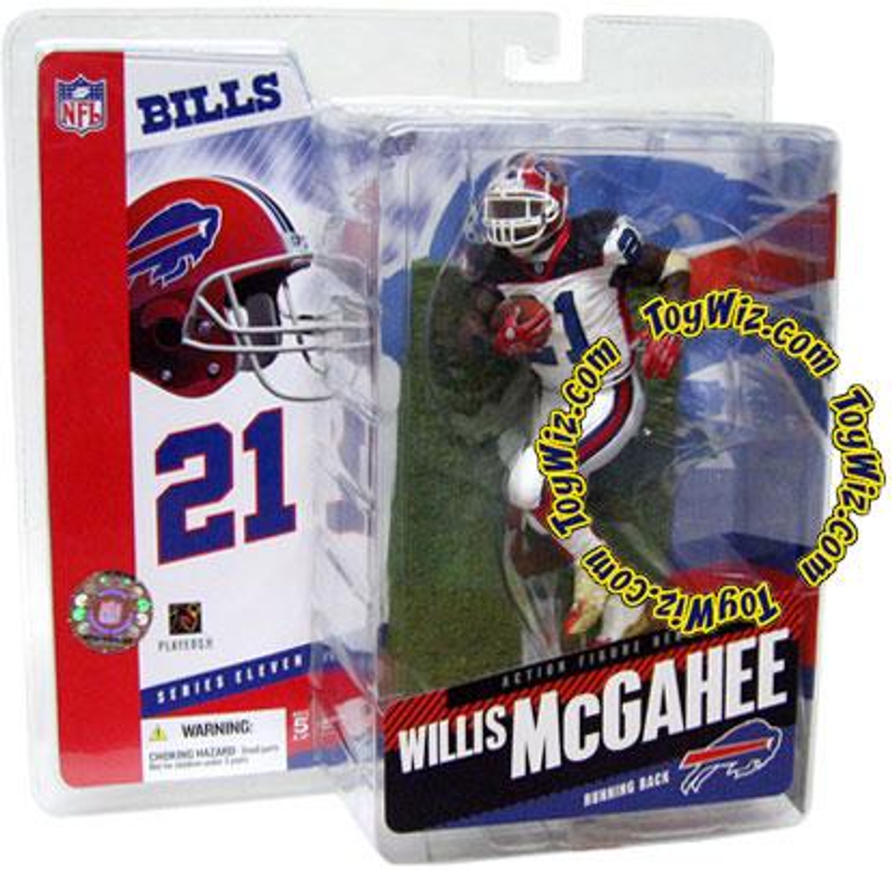 McFarlane Toys NFL Buffalo Bills Sports Picks Series 11 Willis McGahee Action Figure [White Jersey Variant]