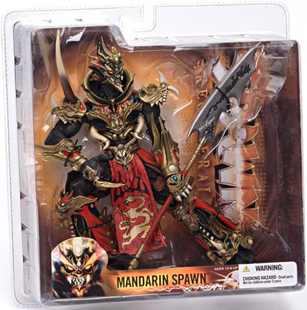 McFarlane Toys Series 28 Regenerated Mandarin Spawn Action Figure