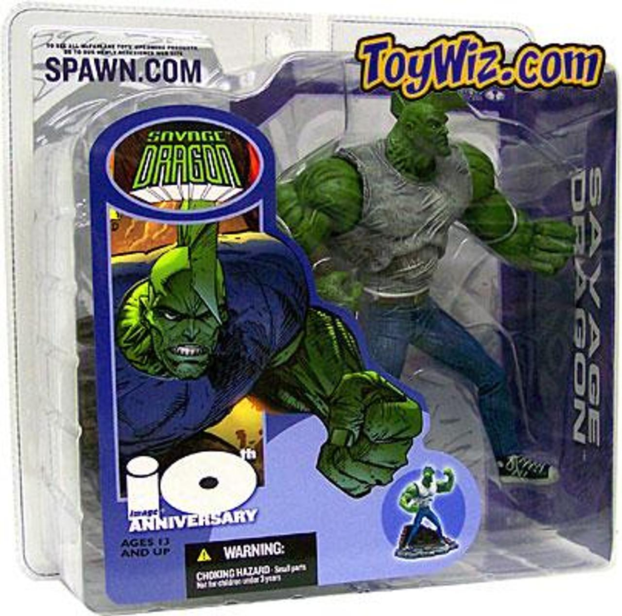 McFarlane Toys Image Comics 10 Anniversary Savage Dragon Action Figure