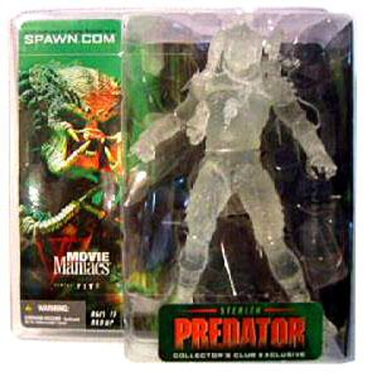 McFarlane Toys Movie Maniacs Series 5 Stealth Predator Exclusive Action Figure