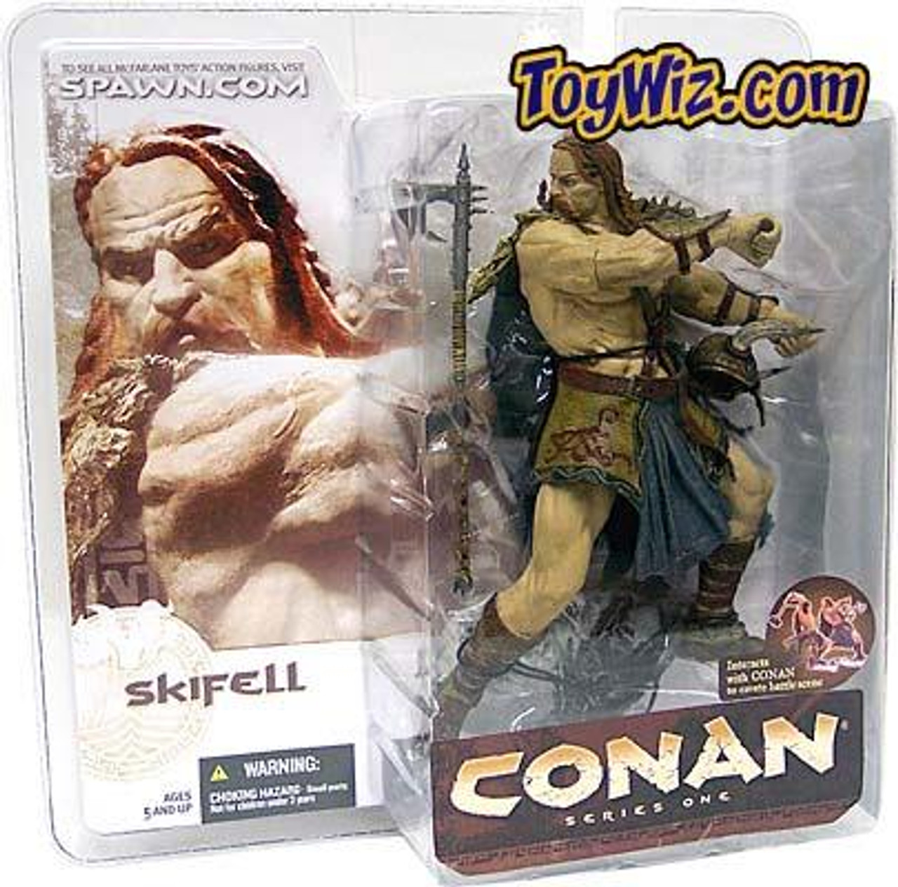 McFarlane Toys Conan the Barbarian Skifell Action Figure