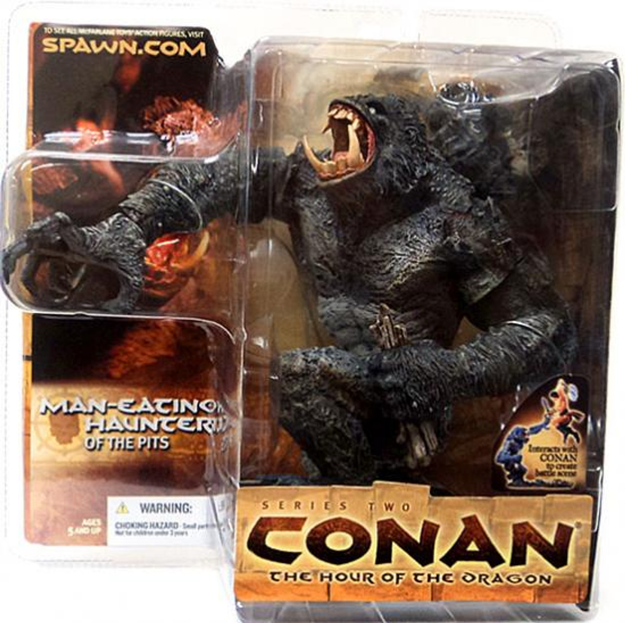 McFarlane Toys Conan the Barbarian The Hour of the Dragon Series 2 Man-Eating Haunter of the Pits Action Figure