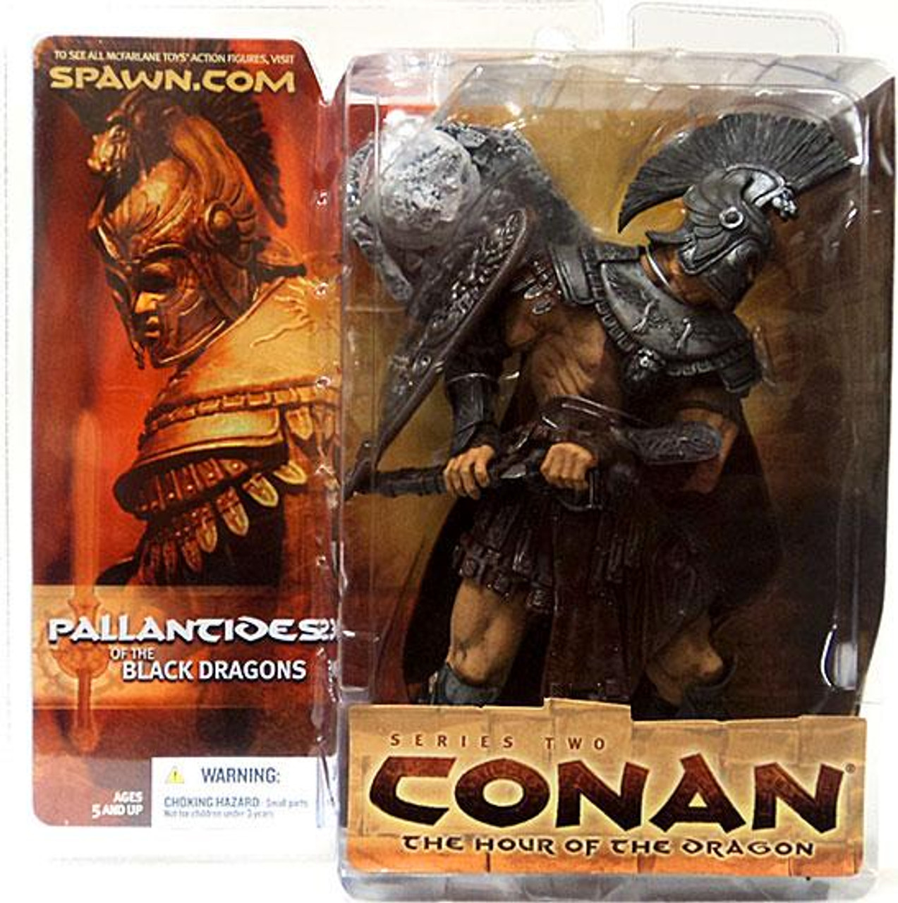 McFarlane Toys Conan the Barbarian The Hour of the Dragon Series 2 Pallantides of the Black Dragon Action Figure