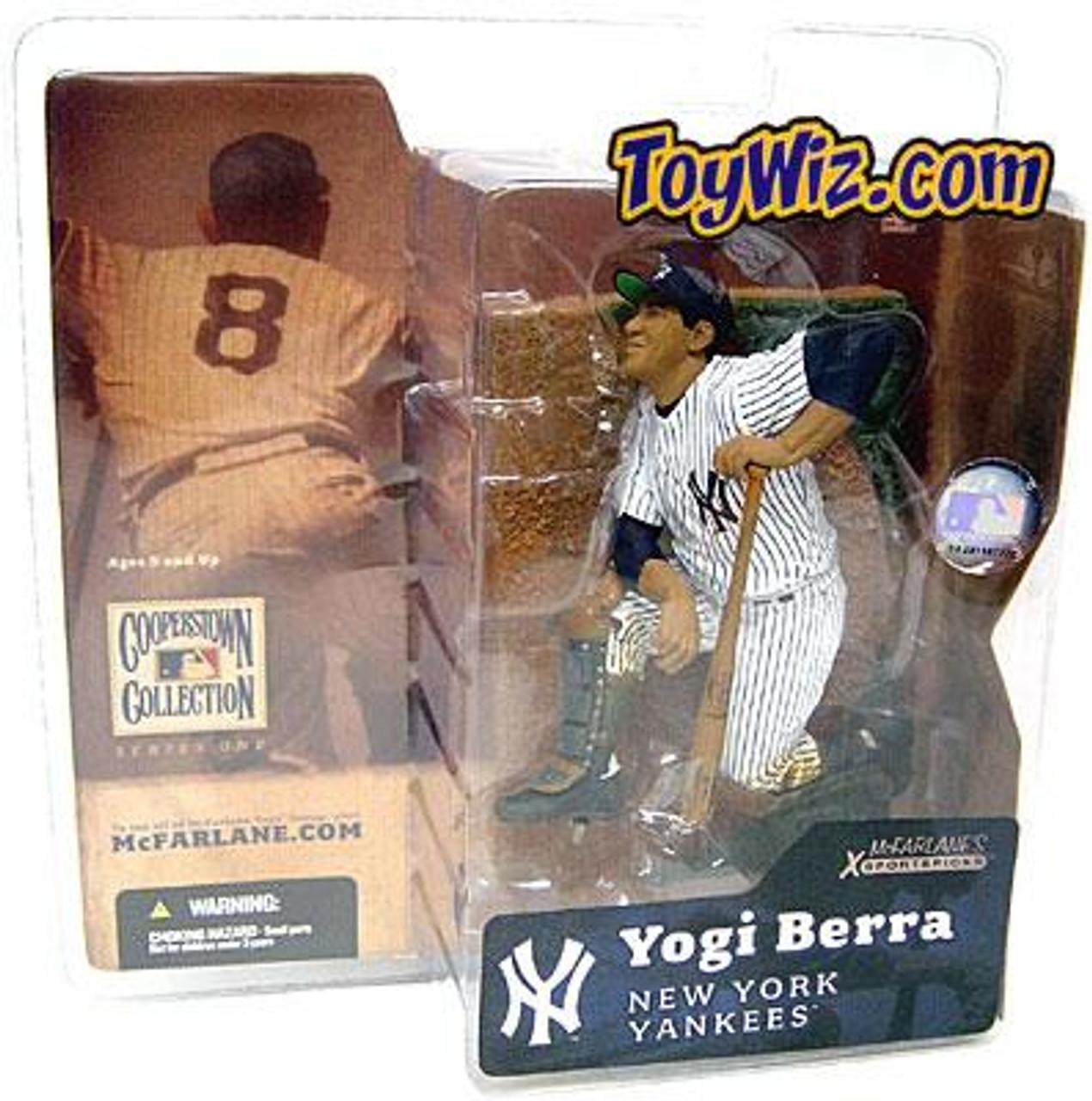McFarlane Toys MLB Cooperstown Collection Series 1 Yogi Berra Action Figure [Regular Hat]