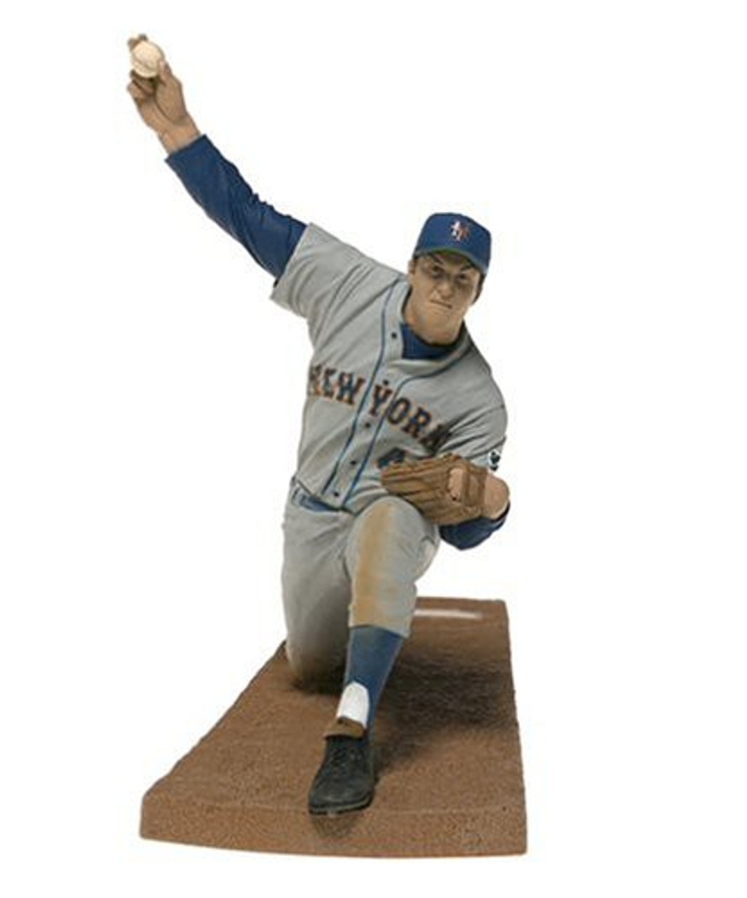 McFarlane Toys MLB Cooperstown Collection Series 1 Tom Seaver (New York Mets) Action Figure [Gray Jersey]