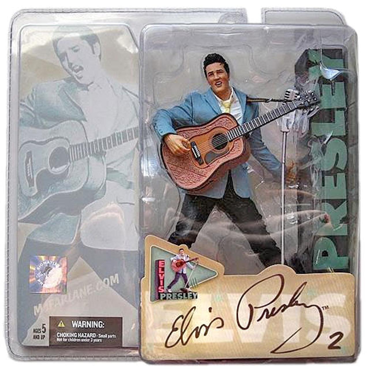 McFarlane Toys Elvis Presley Action Figure #2 ['60's Rockabilly]