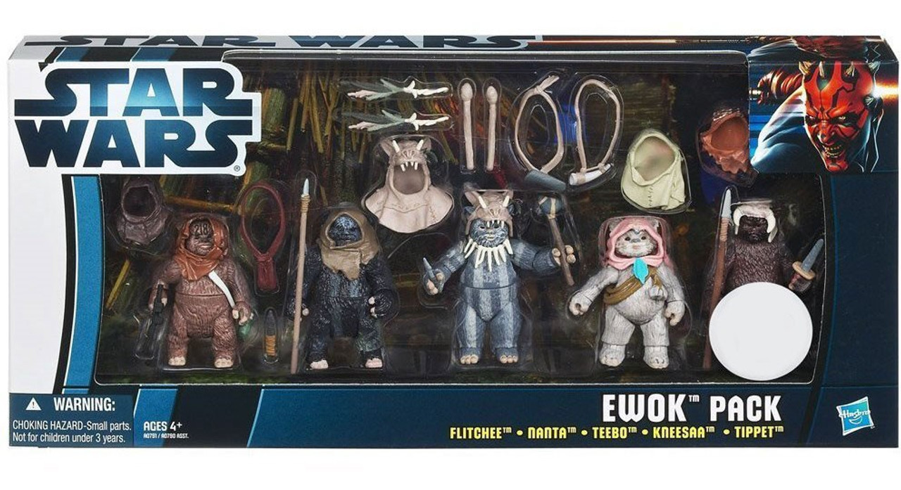 Star Wars Return of the Jedi Boxed Sets 2012 Ewok Pack Exclusive Action Figure Set