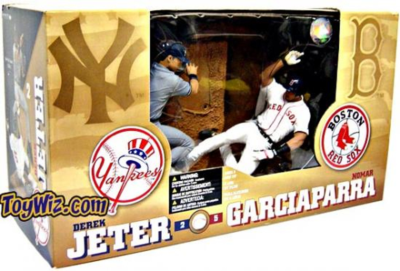 McFarlane Toys MLB New York Yankees / Boston Red Sox Sports Picks Derek Jeter & Nomar Garciaparra Action Figure 2-Pack