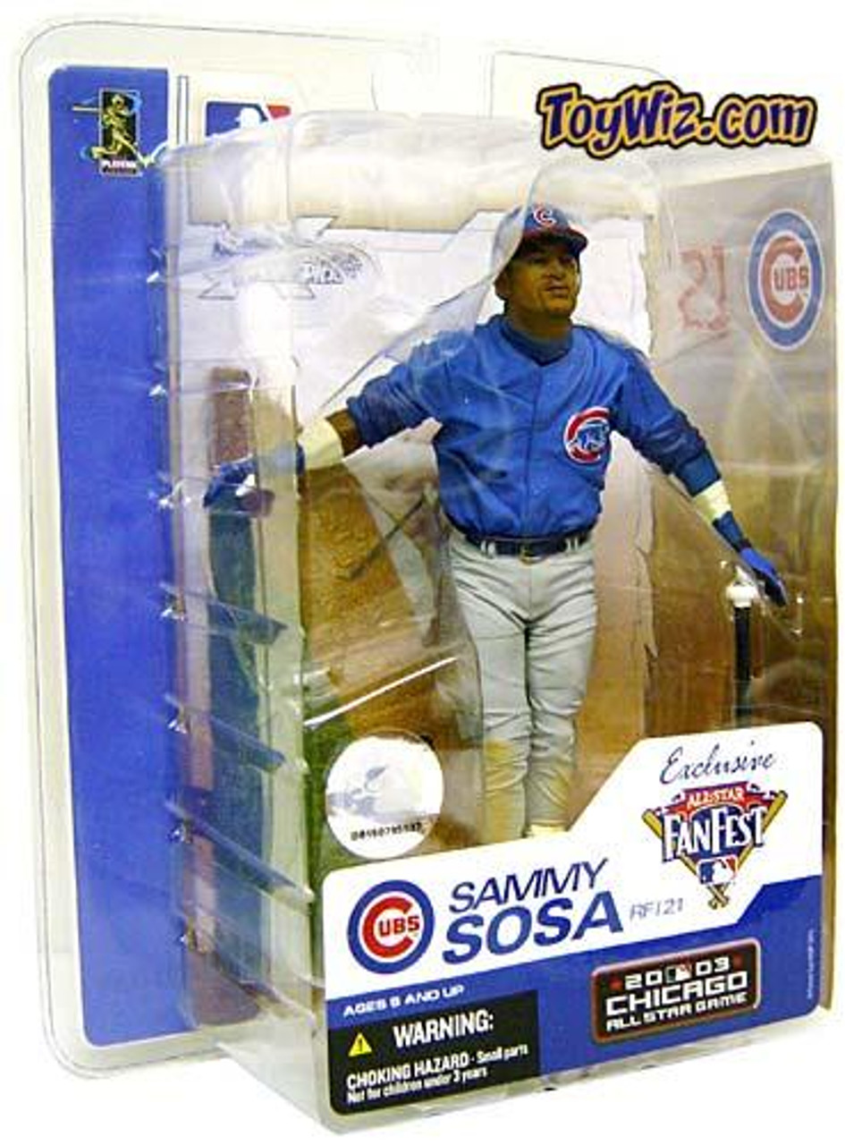 McFarlane Toys MLB Chicago Cubs Sports Picks Exclusive Sammy Sosa Exclusive Action Figure [Fan Fest]