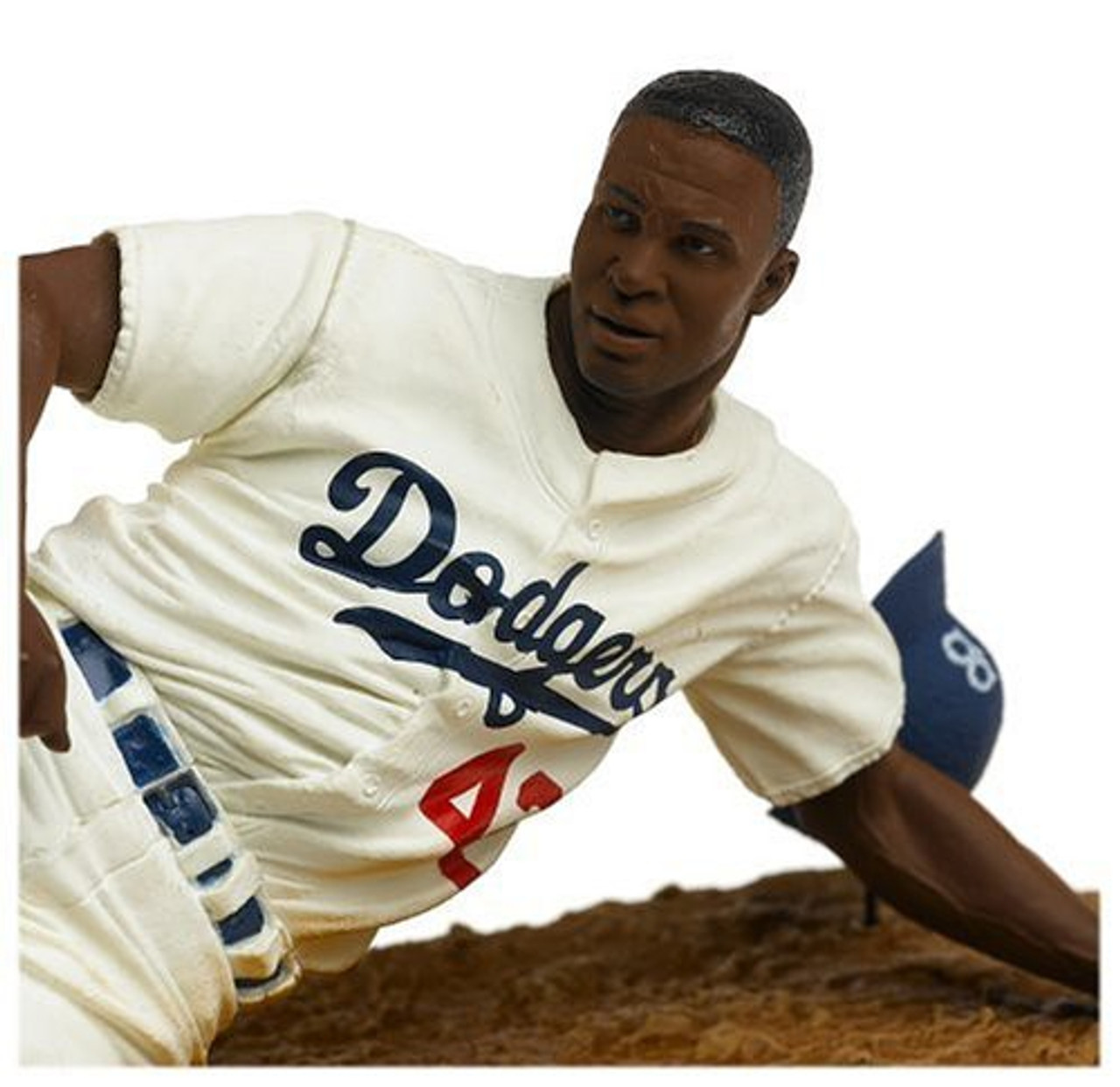 McFarlane Toys MLB Cooperstown Collection Series 3 Jackie Robinson Action Figure [White Uniform]