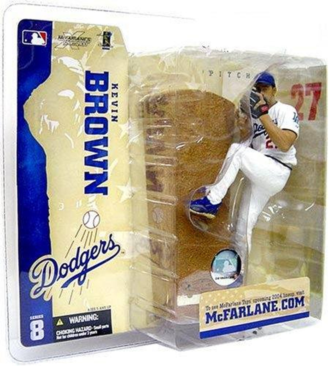 McFarlane Toys MLB Los Angeles Dodgers Sports Picks Series 8 Kevin Brown Action Figure [Dodgers Variant]