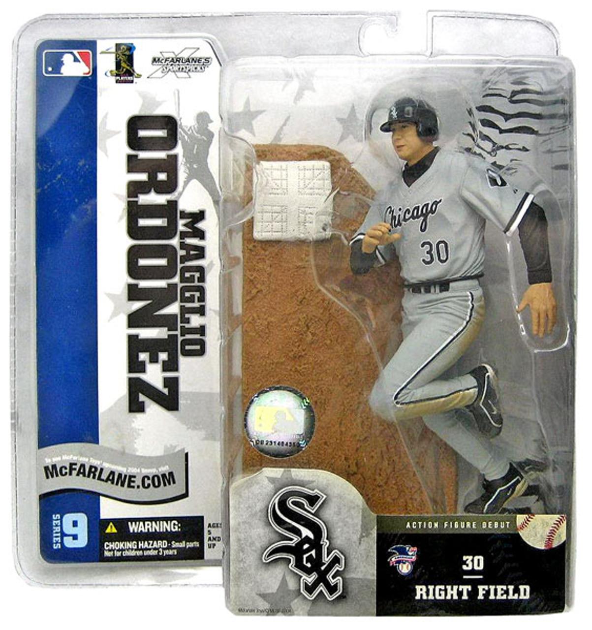 McFarlane Toys MLB Chicago White Sox Sports Picks Series 9 Magglio Ordonez Action Figure [Gray Jersey]