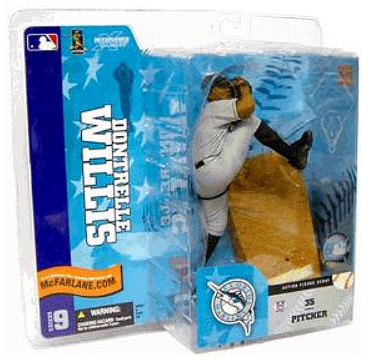 McFarlane Toys MLB Florida Marlins Sports Picks Series 9 Dontrelle Willis Action Figure [Gray Jersey Variant]