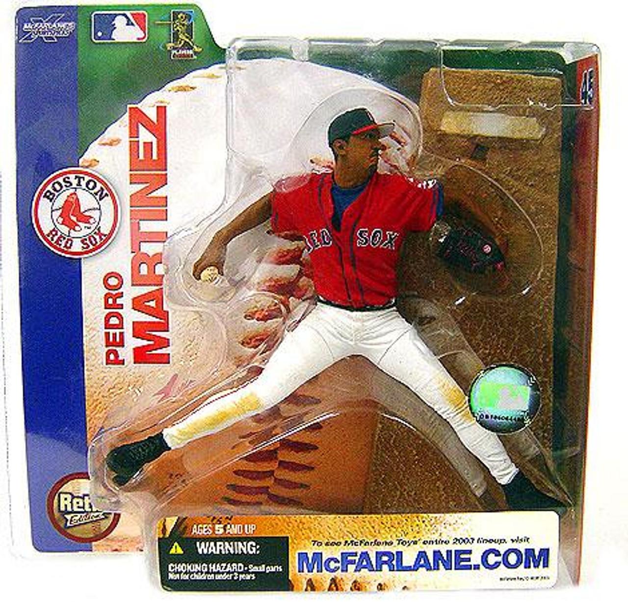 McFarlane Toys MLB Boston Red Sox Sports Picks Series 7 Pedro Martinez Action Figure [Red Boston Jersey]