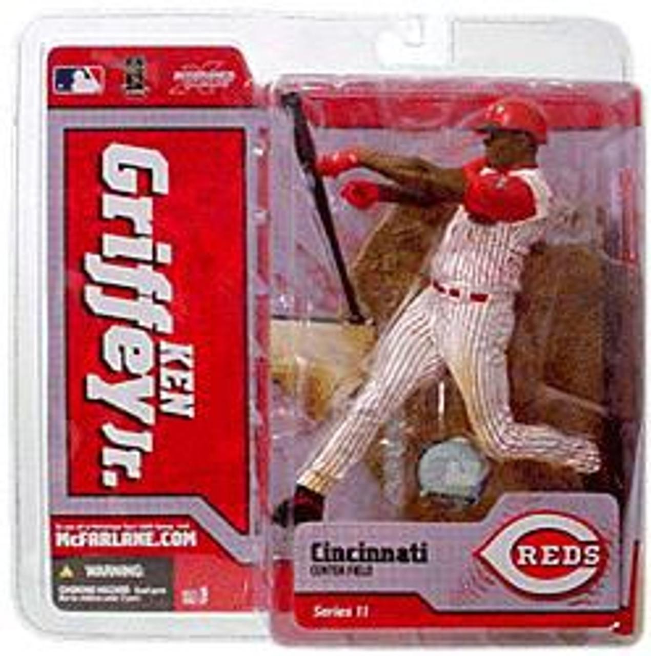 McFarlane Toys MLB Cincinnati Reds Sports Picks Series 11 Ken Griffey Jr. Action Figure [White Jersey]