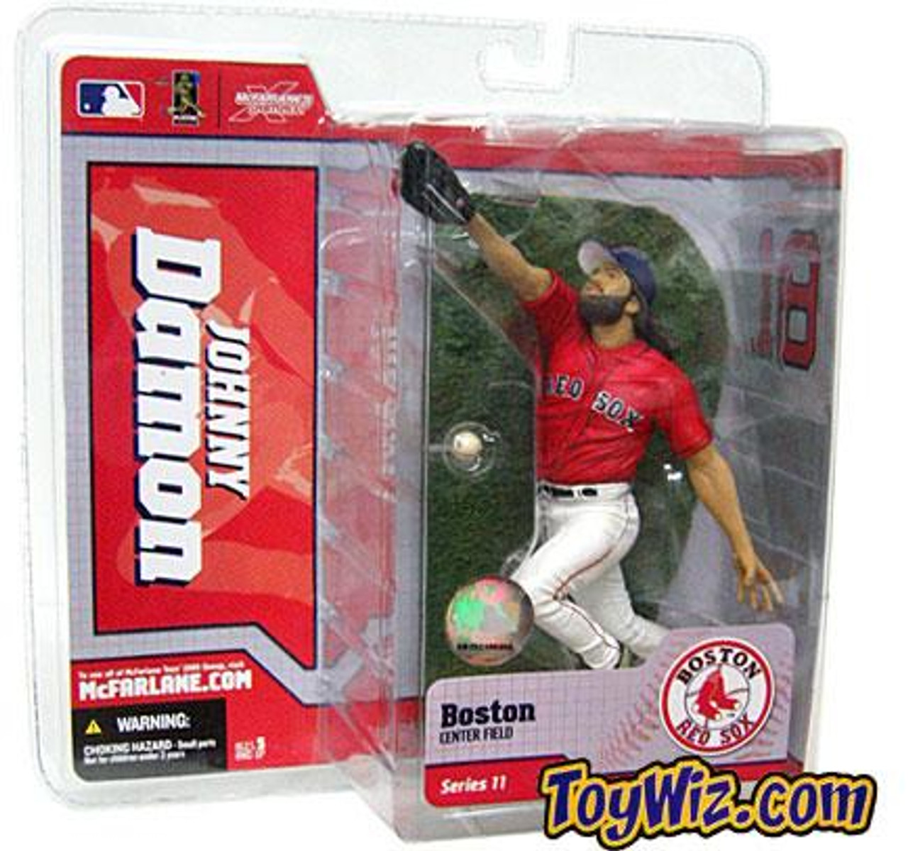 McFarlane Toys MLB Boston Red Sox Sports Picks Series 11 Johnny Damon Action Figure [Red Jersey]