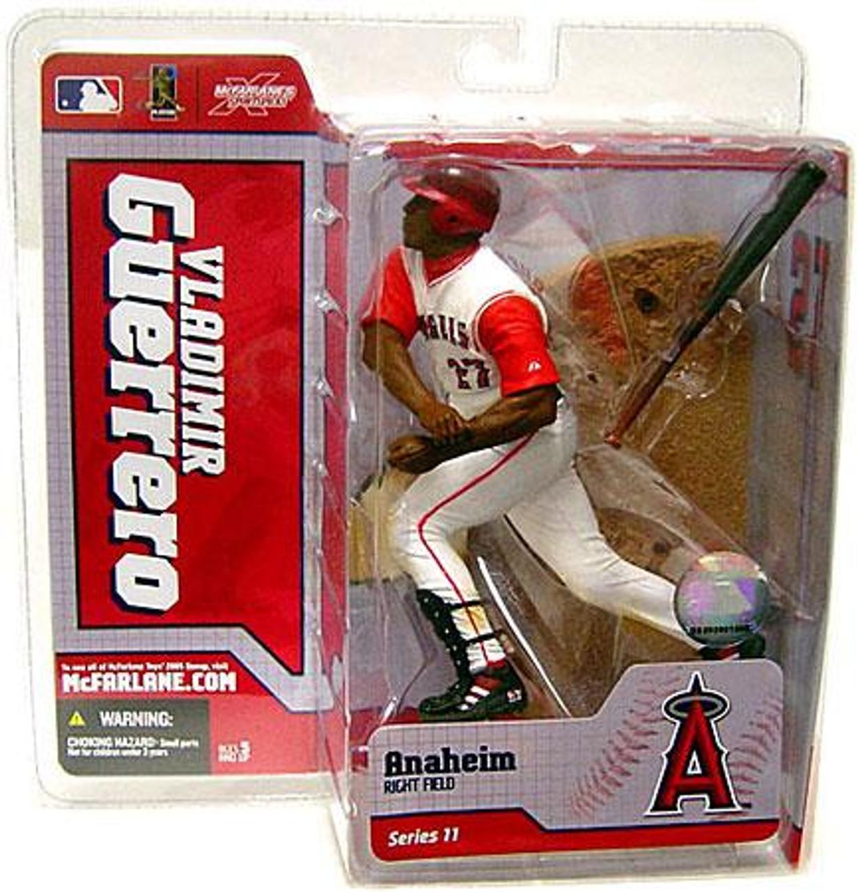 McFarlane Toys MLB Anaheim Angels Sports Picks Series 11 Vladimir Guerrero Action Figure [White Jersey]