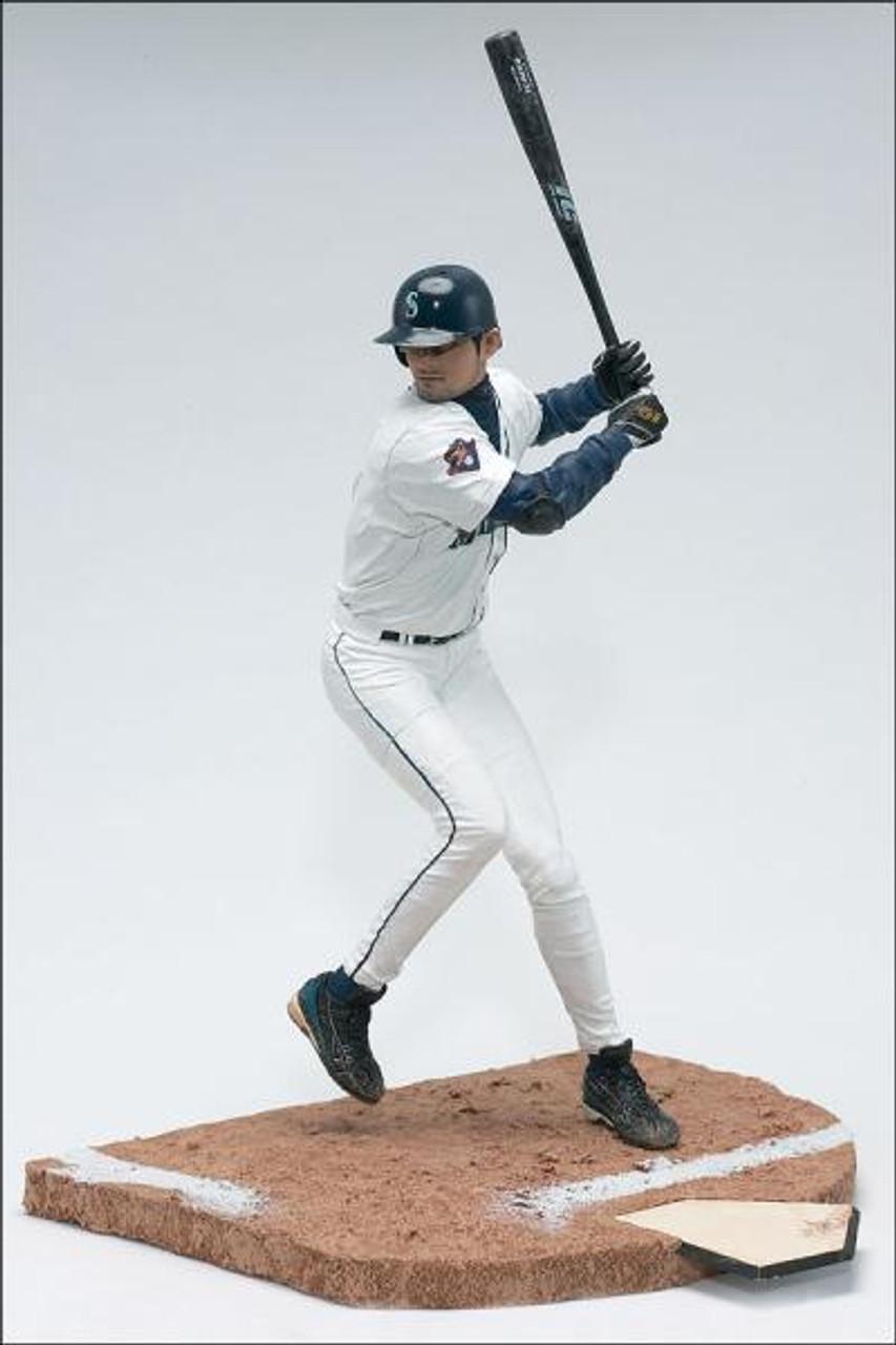 McFarlane Toys MLB Seattle Mariners Sports Picks Series 1 Ichiro Suzuki Action Figure [Gray Jersey Variant]
