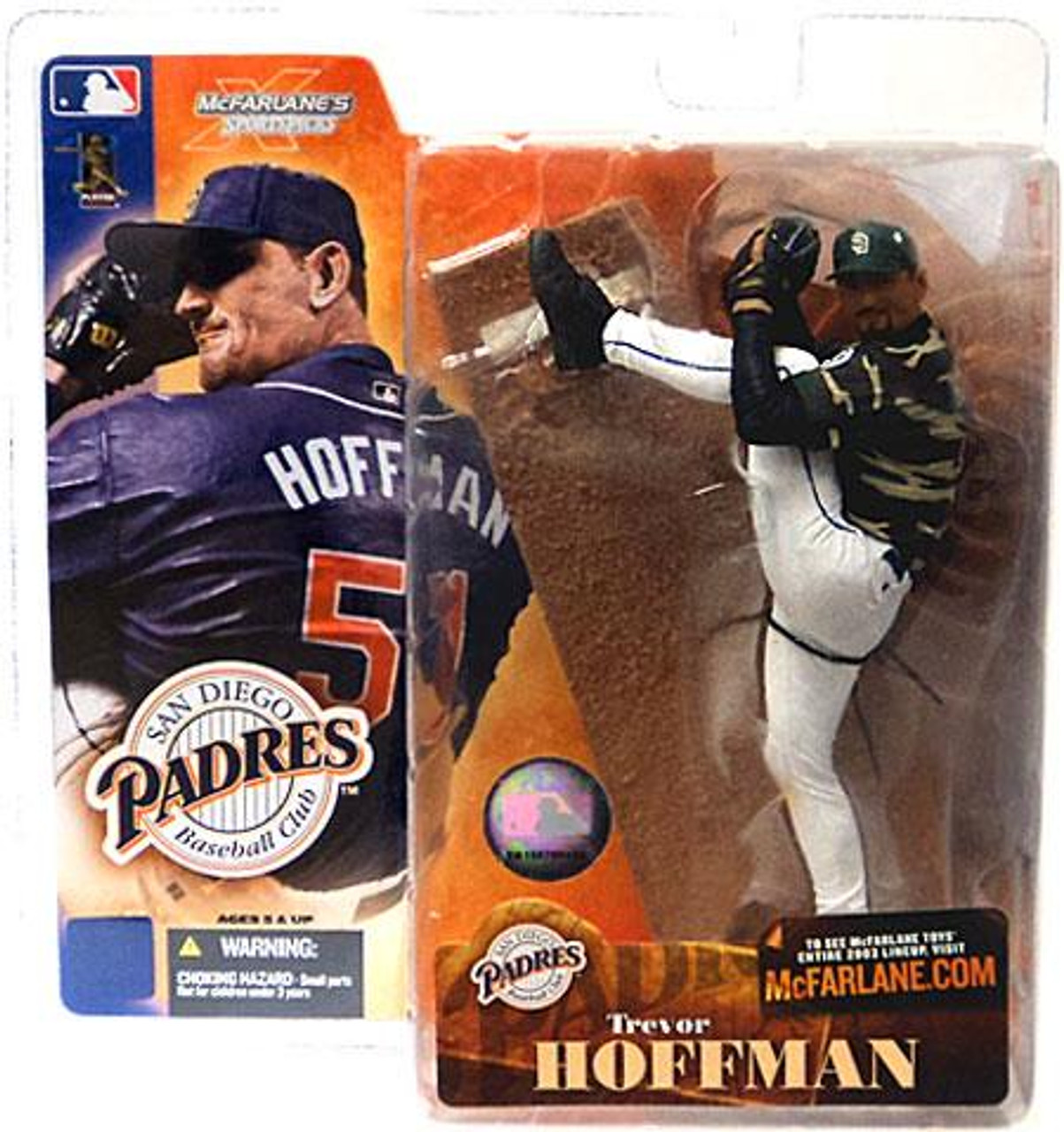 McFarlane Toys MLB San Diego Padres Sports Picks Series 4 Trevor Hoffman Action Figure [Camouflage Jersey Variant]